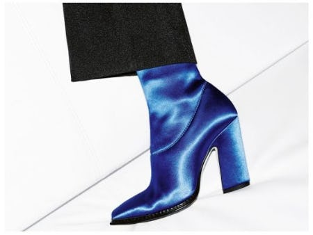 Trend Focus: Electric Blue from Jimmy Choo