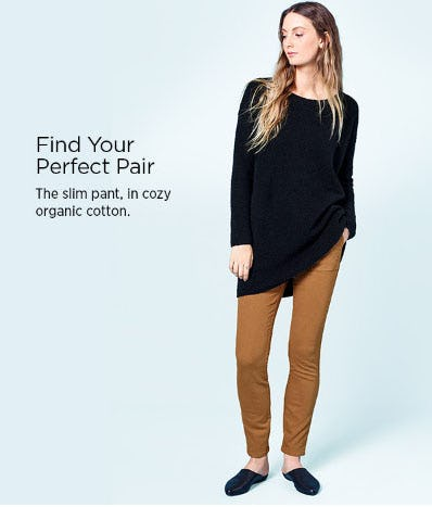 Find Your Perfect Pair from Eileen Fisher