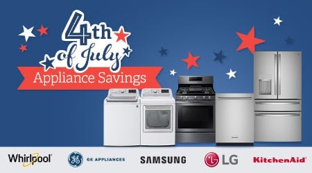 4th of July Appliance Savings from Costco