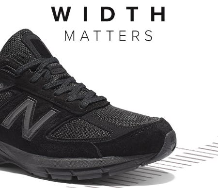 Width Matters from New Balance