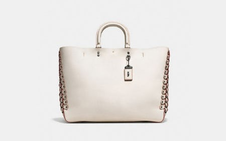 Rogue Tote With Coach Link Detail