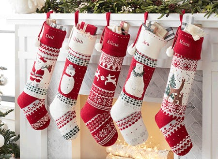 New Heirloom Stocking Collection from Pottery Barn Kids