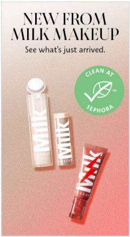 New from Milk Makeup from Sephora