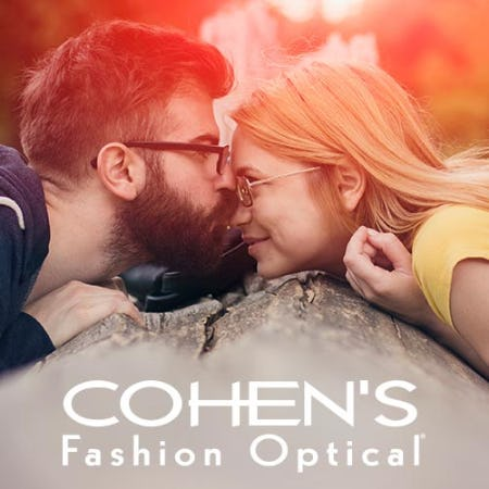 $100 OFF DESIGNER EYEGLASSES OR Rx SUNGLASSES* from Cohen's Fashion Optical