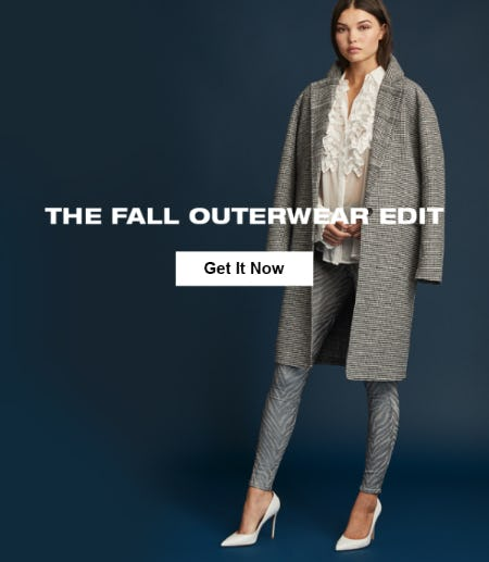 The Fall Outerwear Edit