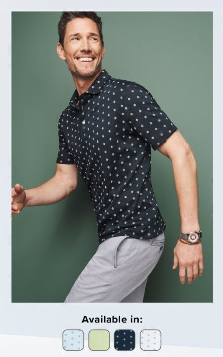 All-New Printed Polos from UNTUCKit