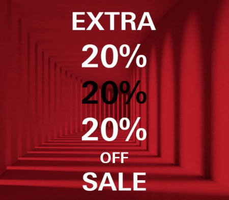 Extra 20% Off Sale from Boss Hugo Boss