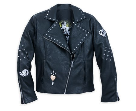 28195fdfa7bf8 Disney Villains Moto Jacket for Women from Disney Store