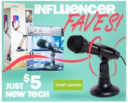Just $5 New Tech from Five Below