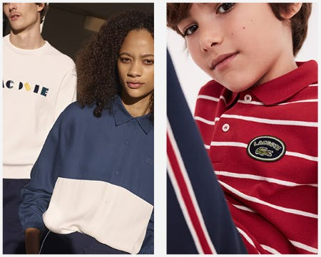 Back to School Essentials from Lacoste