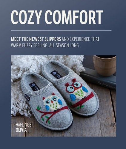 Meet the Newest Slippers from THE WALKING COMPANY