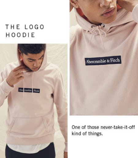 The Logo Hoodie from Abercrombie & Fitch