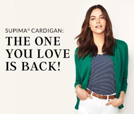 Women's Supima Cardigan