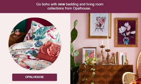 New Bedding and Living Room Collections from Target