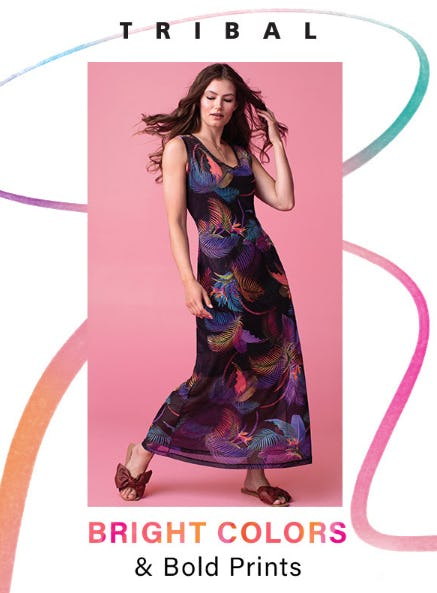 Tribal Bright Colors & Bold Prints from Von Maur