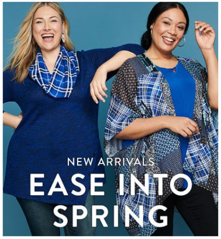 New Arrivals for Spring from Catherines Plus Sizes