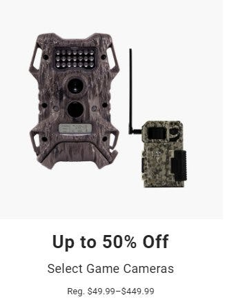 Up to 50% Off Select Game Cameras from Dick's Sporting Goods