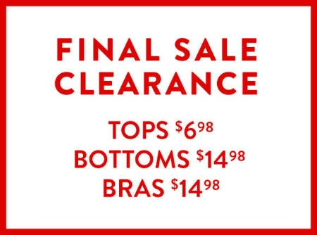 Final Sale Clearance from Catherines Plus Sizes