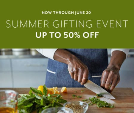 Summer Gifting Event Up to 50% Off from Sur La Table