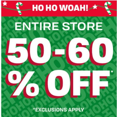 50-60% Off Entire Store from The Children's Place