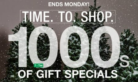 1000s of Gift Specials