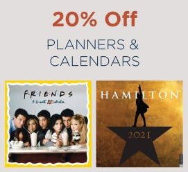 20% Off Planners & Calendars from Books-A-Million
