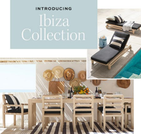 Introducing Ibeza Collection from Pottery Barn