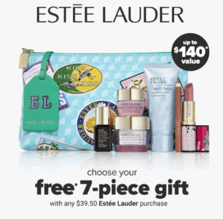 Free Gift with Any $39.50 Estee Lauder Purchase from Belk