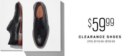 $59.99 Clearance Shoes from Men's Wearhouse and Tux