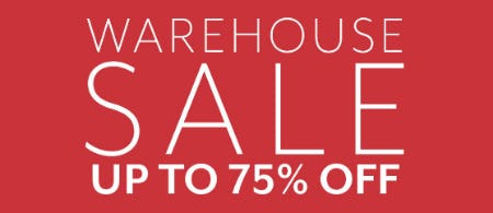 Up to 75% Off Warehouse Sale from Sur La Table