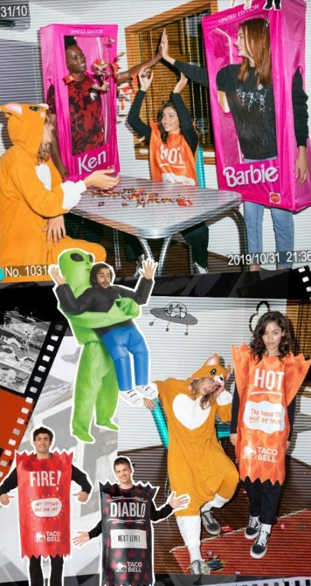 Fun & Weird Halloween Costumes from Tillys