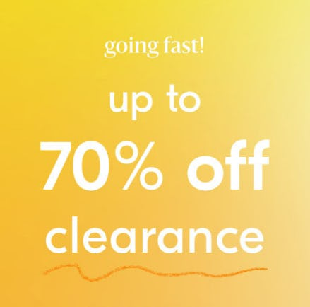 Up to 70% Off Clearance from West Elm