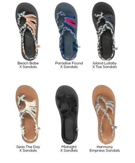 New Brand: Vines Islandwear Sandals from Sun & Ski Sports