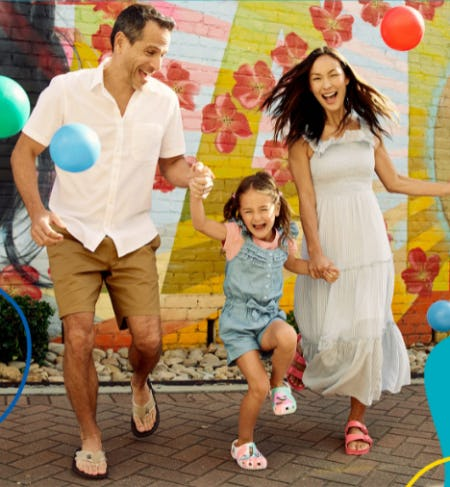 Family Fun Sandals from Rack Room Shoes