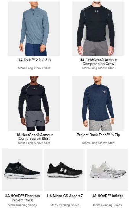 Best Seller Gear from Under Armour