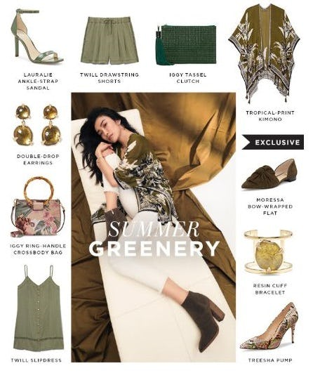 Color Story: Olive Green from Vince Camuto
