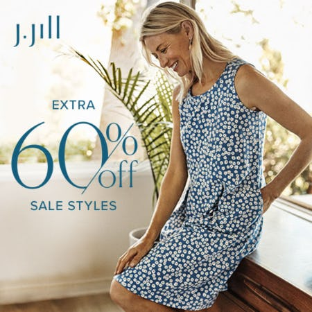 Extra 60% off Sale Styles from J.Jill