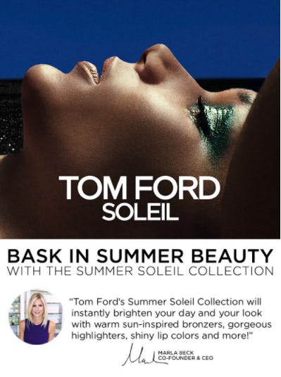 Tom Ford's Summer Soleil Collection from Blue Mercury