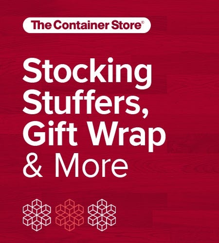 The Container Store Holiday Shop from The Container Store