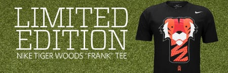 "Limited Edition Nike Tiger Woods ""Frank"" Tee from Golf Galaxy"