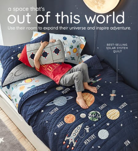 A Space that's Out of this World from Pottery Barn Kids