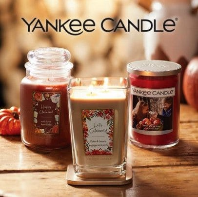 ALL Large Candles – 2 for $40 from Yankee Candle Company