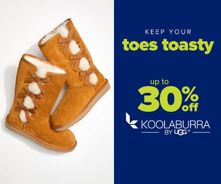 Up to 30% Off Koolaburra from Belk