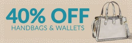 40% Off Handbags & Wallets from Charming Charlie