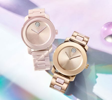 Movado Watches Make the Perfect Valentine's Day Gift