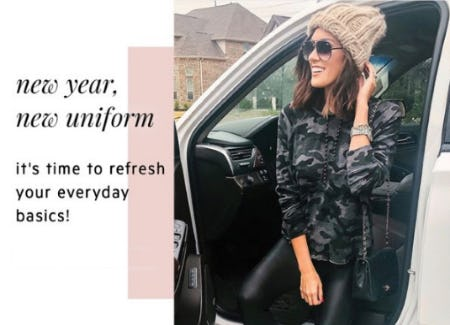 New Year, New Uniform from Evereve
