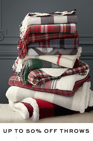 Up to 50% Off Throws from Pottery Barn