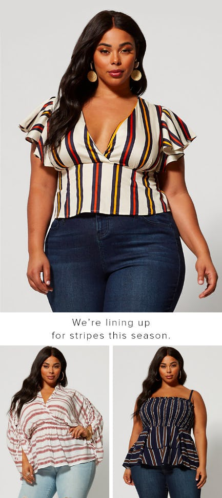 Stripe Season from Fashion To Figure