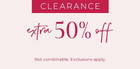 Extra 50% Off Clearance from Lane Bryant
