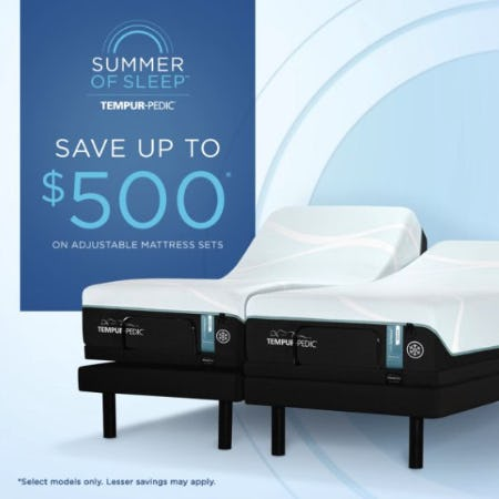 Tempur-Pedic Summer of Sleep from Tempur-Pedic